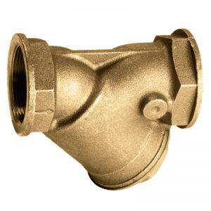 Filtro raccoglitore impurita y filettato bronzo pn16