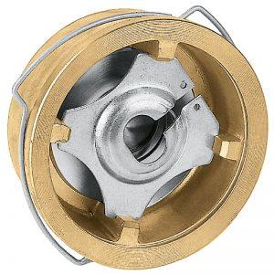 Valvola ritegno disco ottone pn16