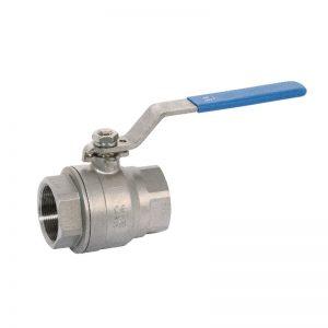 Valvola sfera monoblocco acciaio inox pn63